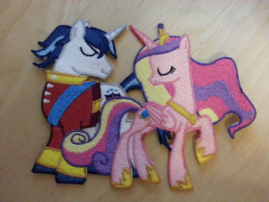 Cadence and Shining Armor Patch by EthePony