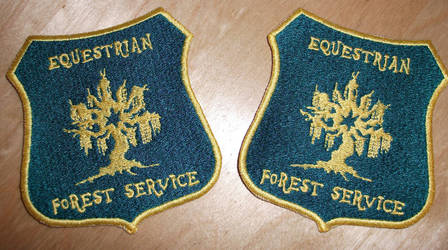 Equestrian Forest Service Patch by EthePony