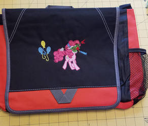 Pinkie Toot Embroidered Bag by EthePony