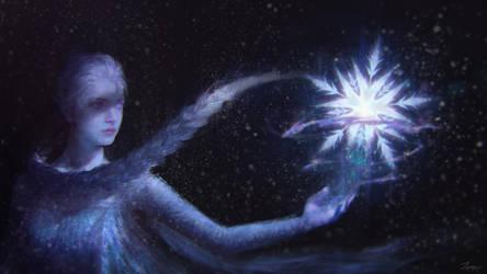 Frozen    Elsa by lzfrusnckop