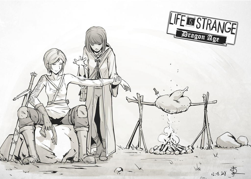 Life is strange with Dragon age 01 by Hitchlee