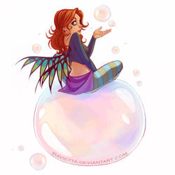 bubbles bubbles by Ravietta