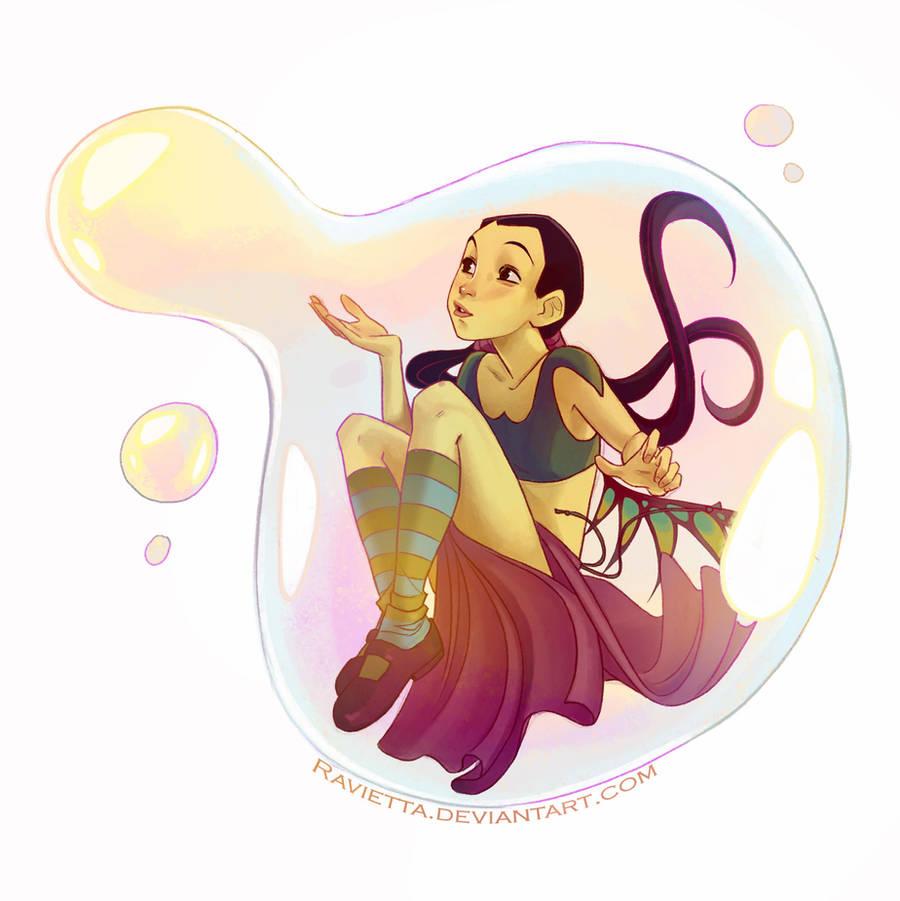 my bubbles by Ravietta