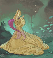 MerMay: Rapunzel by Ravietta