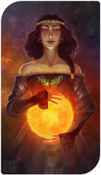 XIX: The Queen by Ravietta