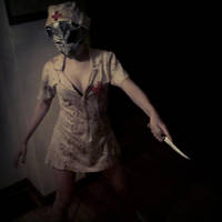 Nurse Cosplay by MissPyramidHead4