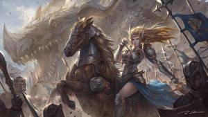 Return of Dragon Knight by Raines-Tu