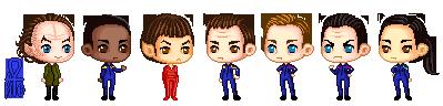 Enterprise crew by HanabiChick