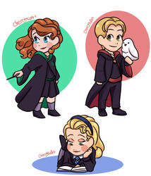 Sofia the First Harry Potter Au by CherryLoArt