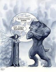 Vampire and Werewolf Insults by UchihaKnight19