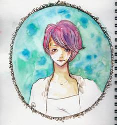 portrait by Otai