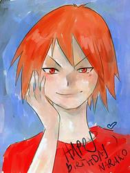 Naruko Happy Birthday by Otai