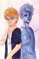 Simon and Blue by Otai