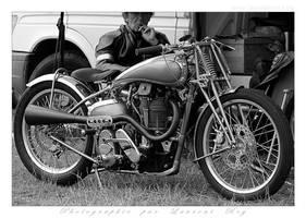 Norton Manx - 001 by laurentroy