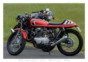 Honda CB350 - 003 by laurentroy