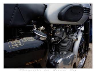 Triumph scrambler - 002 by laurentroy