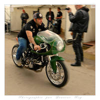 Green Ducati - 001 by laurentroy