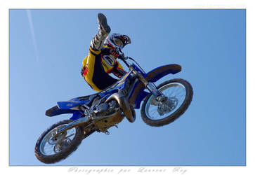 Motorbike in the sky - 009 by laurentroy