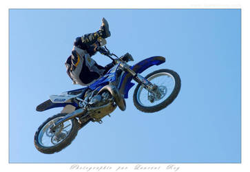 Motorbike in the sky - 013 by laurentroy