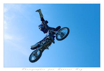 Motorbike in the sky - 014 by laurentroy