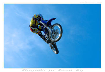 Motorbike in the sky - 016 by laurentroy