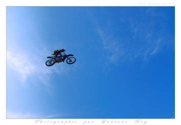 Motorbike in the sky - 017 by laurentroy