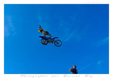 Motorbike in the sky - 018 by laurentroy