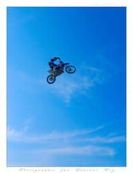 Motorbike in the sky - 019 by laurentroy
