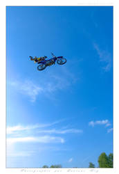 Motorbike in the sky - 021 by laurentroy