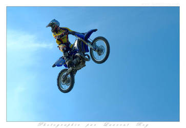 Motorbike in the sky - 023 by laurentroy