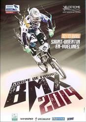 Coupe de france BMX 2014 Flyer by laurentroy