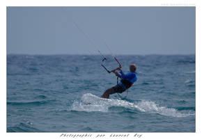 Kitesurf - 002 by laurentroy