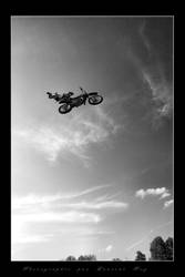 Motorbike in the sky 3 by laurentroy