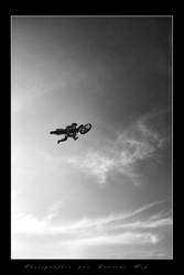 Motorbike in the sky 4 by laurentroy
