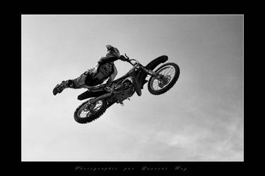 Motorbike in the sky 5 by laurentroy