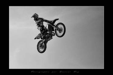 Motorbike in the sky 6 by laurentroy