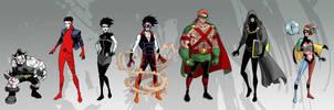 Superhero Sandman: The ENDLESS by iliaskrzs