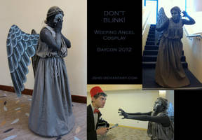Weeping Angel Cosplay by Jshei