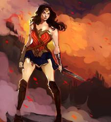 Wonder Woman by Jooliea