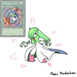 Another Gardevoir and Blaziken fusion...Gardeken.. by Alpha072