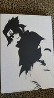 Sasuke Uchiha Spray Paint Art by CloudsOfVision