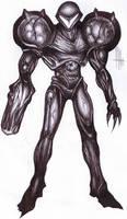 Dark Samus by Matt-Hart666