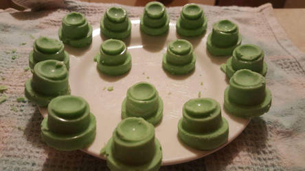 Belgian Lime Chocolate w/ Lemon Fondant by Fennbothan