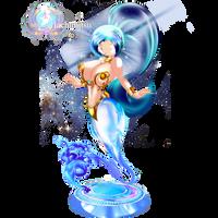 Enslaved Genie Crystal - Slave outfit by hachimitsu-ink