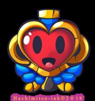 Shantae - Half Genie hero - Heart Holder by hachimitsu-ink