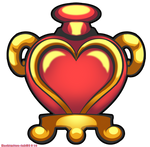 Shantae - Heart holder by hachimitsu-ink