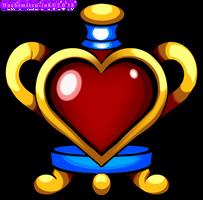 Shantae - Risky Revenge - Heart holder by hachimitsu-ink