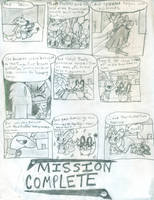 Team Fireflies Mission 2- Mountain Thieves- Pg 43 by LilyArcondas