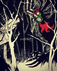 Samurai Jack by Bora-Arslanbulut