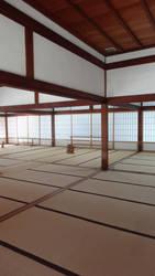 At Tenryu-ji (Kyoto) by Alicelis88
